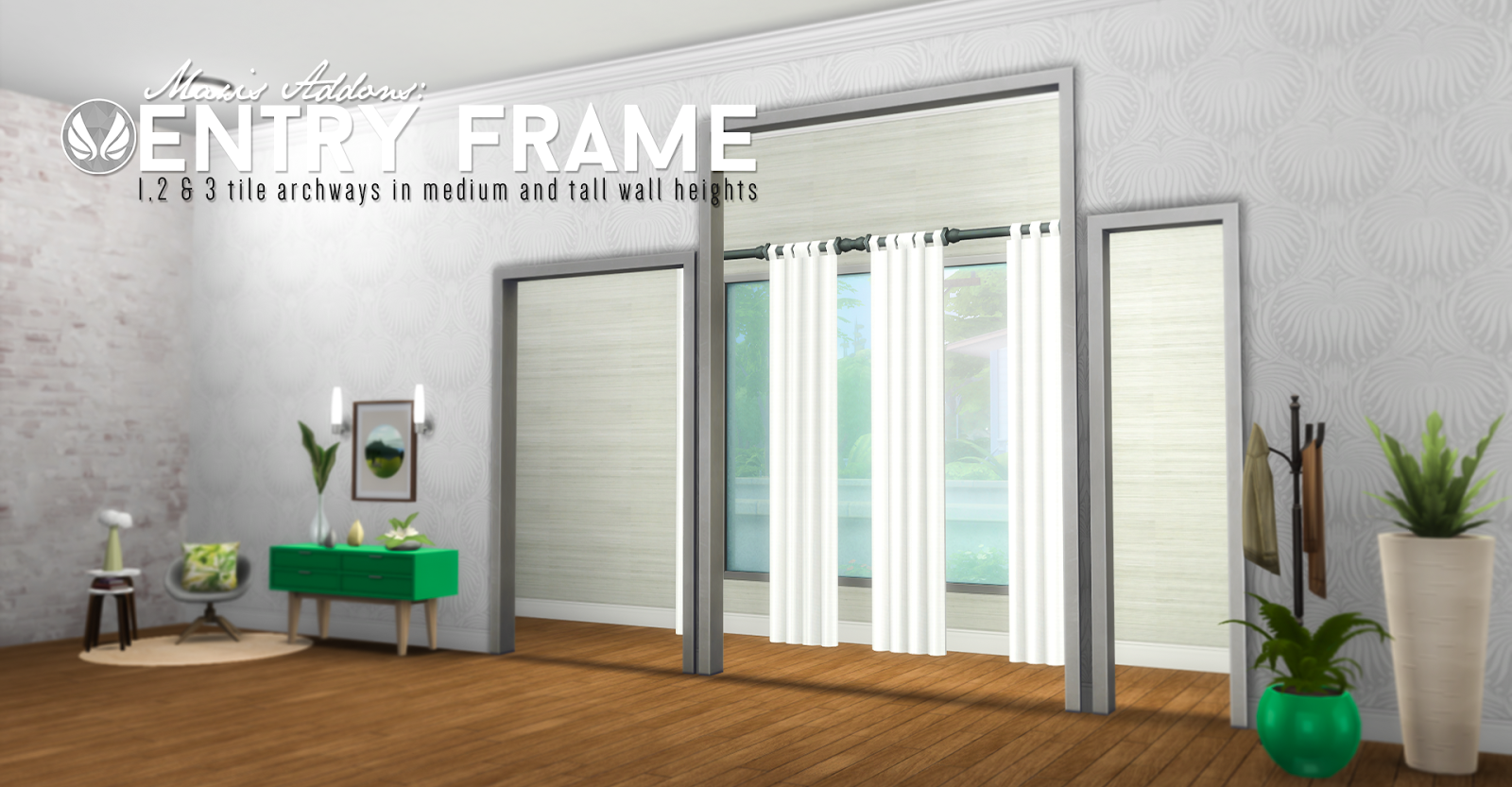 Simsational Designs: UPDATED - Entry Frame Addons