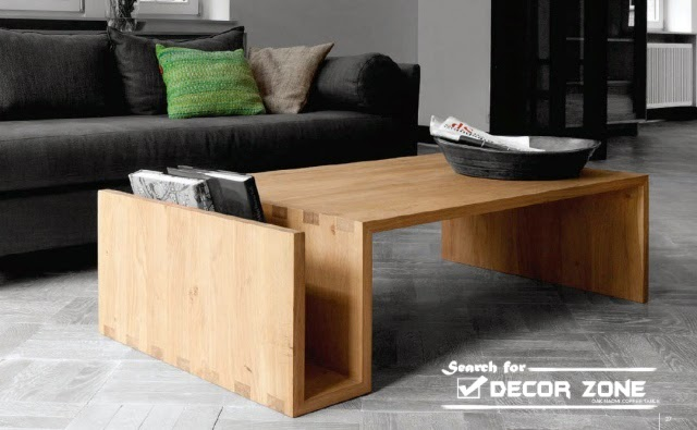 15 Solid wood coffee table designs and ideas | Home Design & Kitchen ...