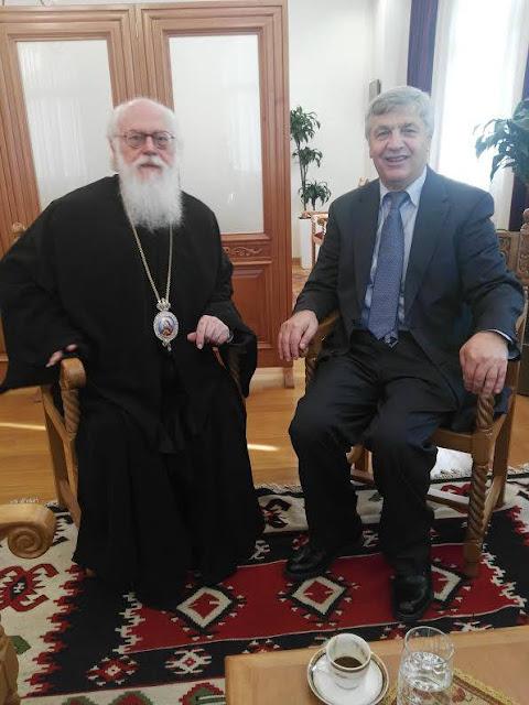 Πρέβεζα: Στην Πρέβεζα o Αρχιεπισκόπος Τιράνων, Δυρραχίου και πάσης Αλβανίας Αναστάσιος Γιαννουλάτος