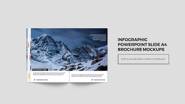 Infographic Multi Page Brochure Powerpoint Mockup Slide7