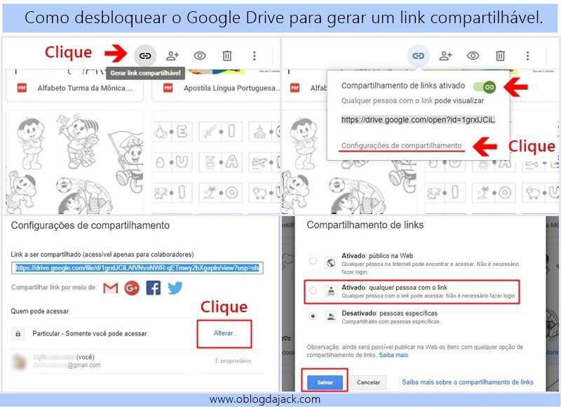 2 maneiras de disponibilizar arquivos para download no blog usando o Google Drive