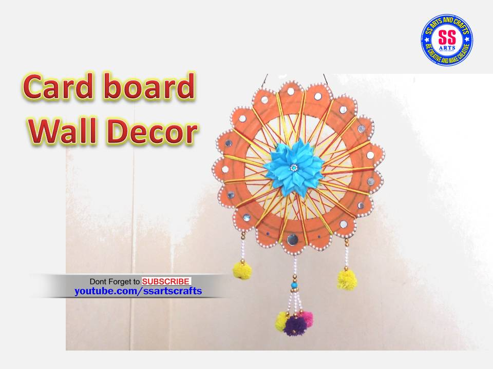Home Decor With Card Board