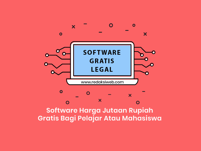 7 Software Mahal Ini Gratis Bagi Para Pelajar Atau Mahasiswa ( LEGAL )