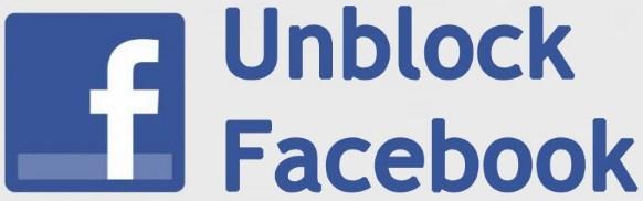 unblock facebook login
