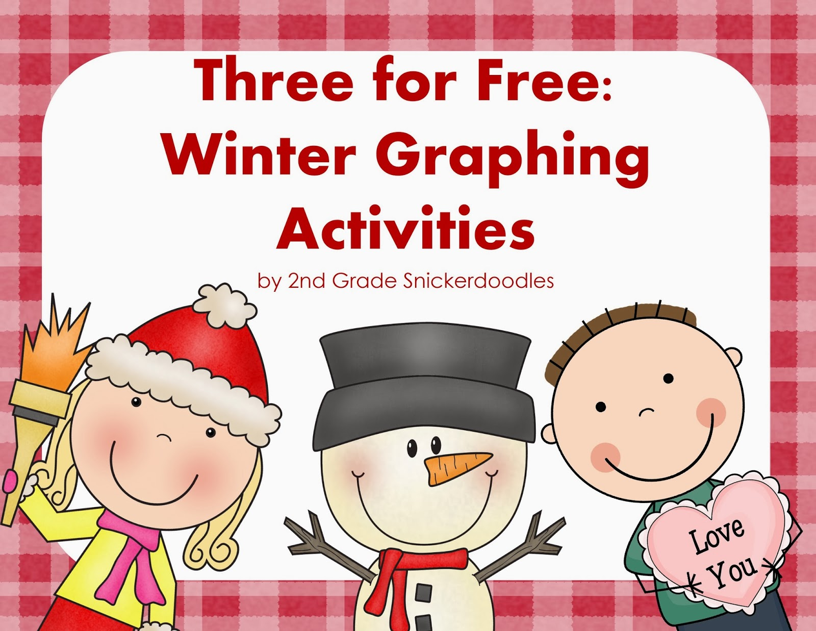 2nd Grade Snickerdoodles Graphing Freebies