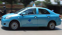 Taksi Blue Bird di Kota Bandung