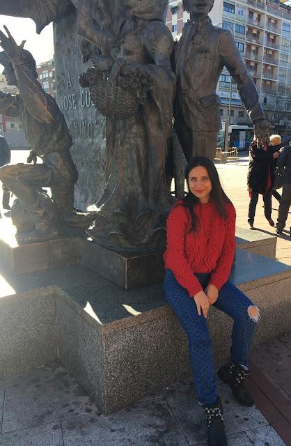 Camelia Andrasescu la Madrid