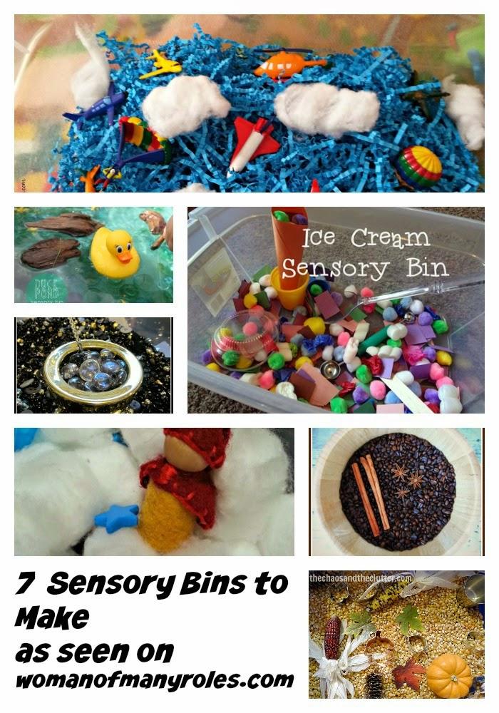 7 Sensory Bins To Make