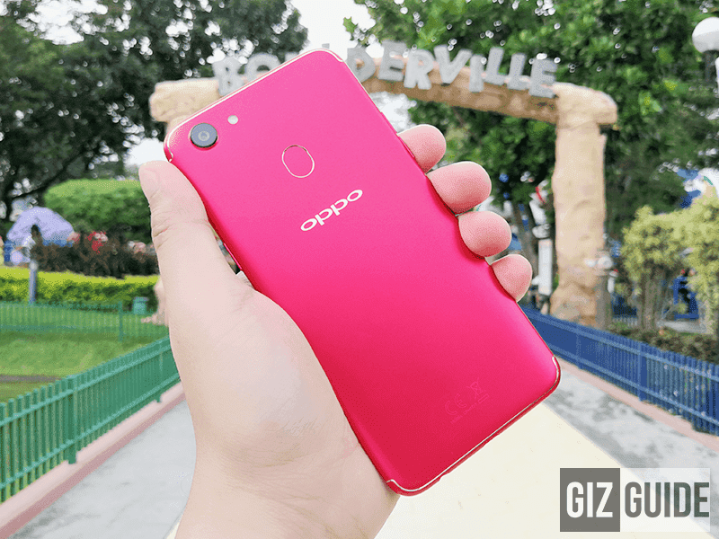 OPPO F5 Red now available in the Philippines