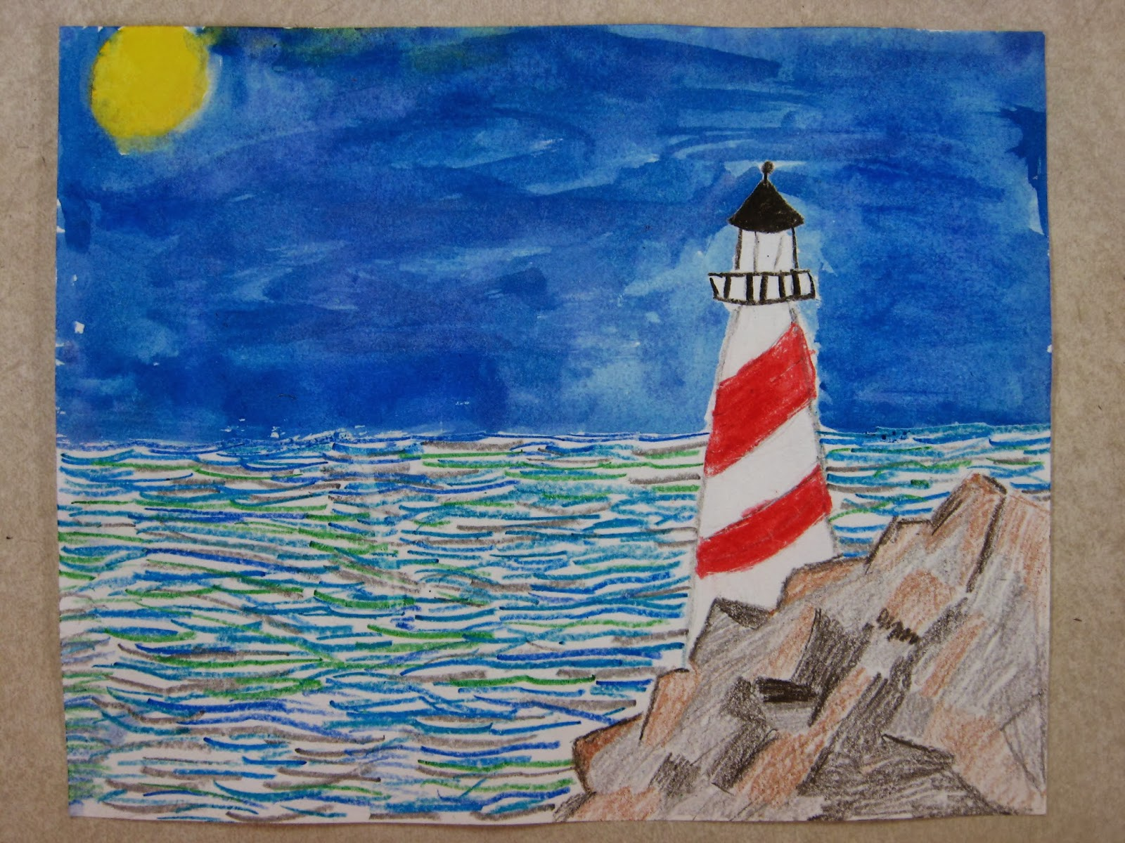 As I Would Have Liked Anyone Know Of A Famous Artist Who Painted Lighthouses But We Hit Lot Elements And Principles Art On This Project
