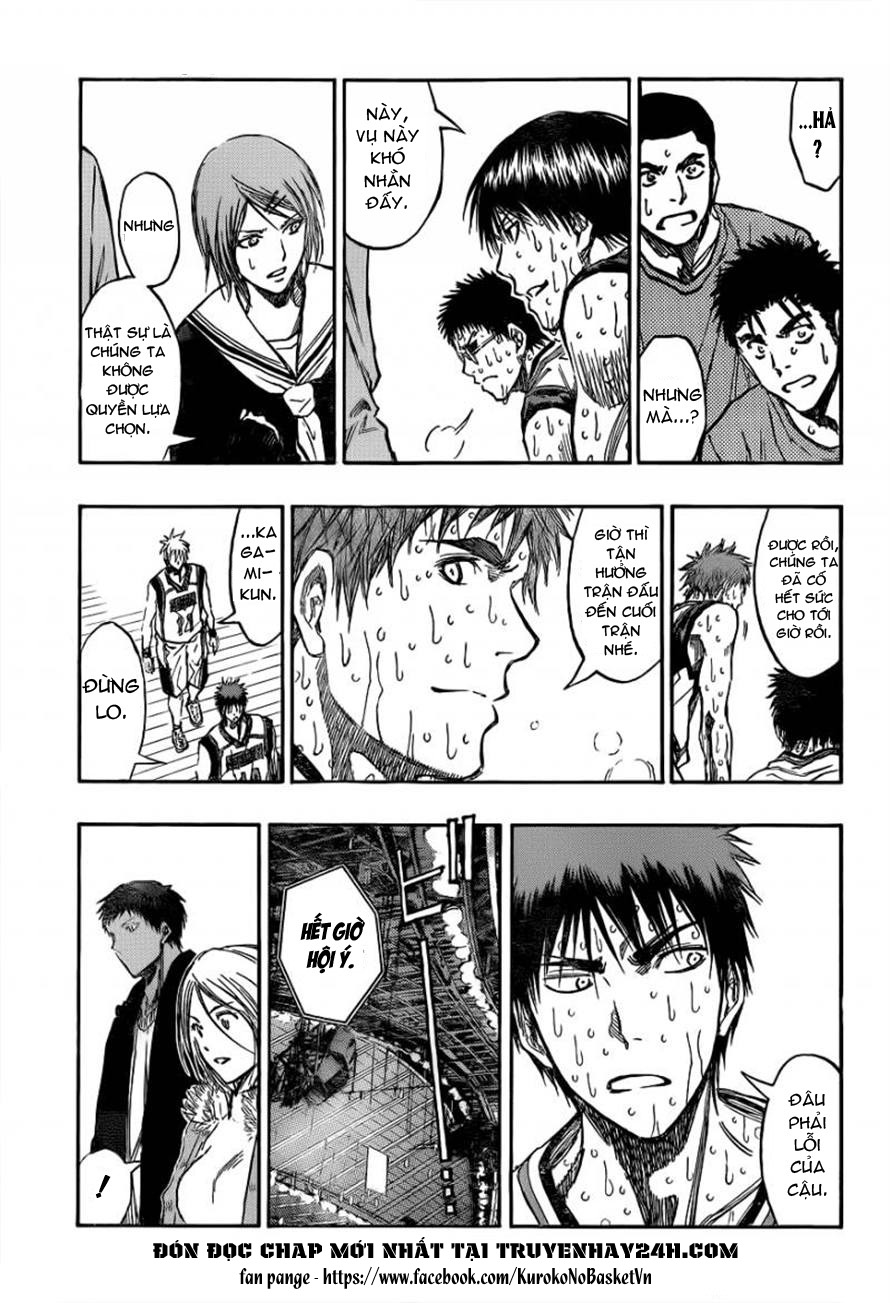Kuroko No Basket chapter 200 trang 5