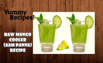 Raw Mango Cooler (Aam Panna) Recipe - How To Make Aam Panna