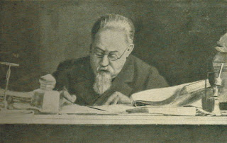 Lombroso at work at the University of Pavia