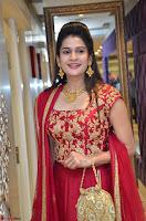 Jenny Honey in Stunning Dark Red Anarkali Dress at Splurge   Divalicious curtain raiser ~ Exclusive Celebrities Galleries 088.JPG