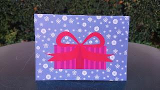 festive present card @Peace_n_Cookies