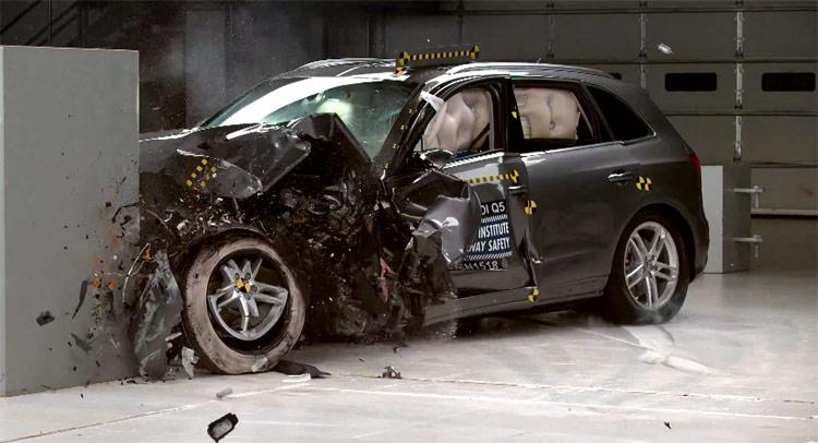 Audi Q5 crash test