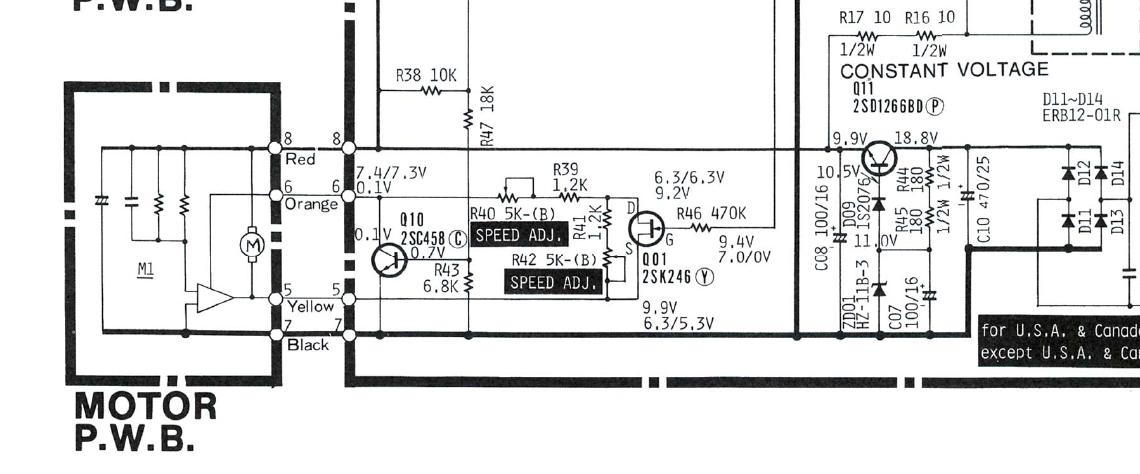 Doz' Blog: Hitachi HT-L33 turntable repairs.