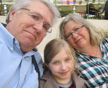 Me, Hubby, and Granddaughter #3