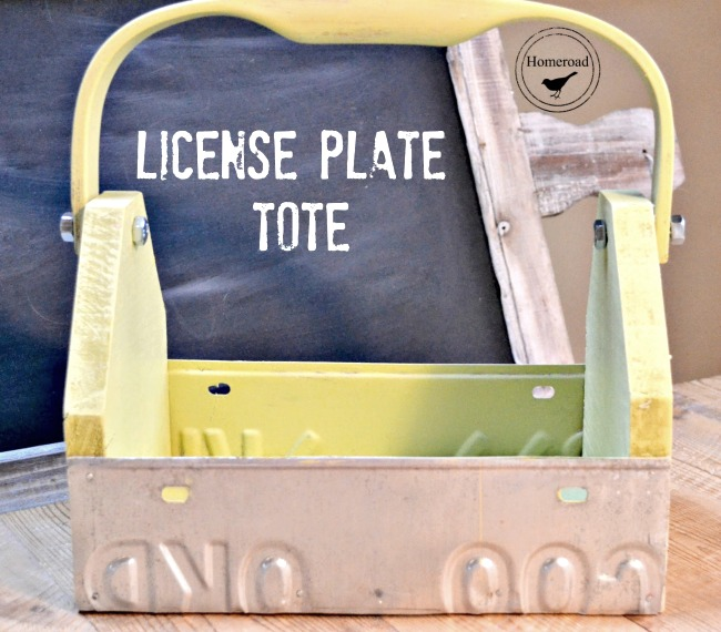 Five License Plates Projects