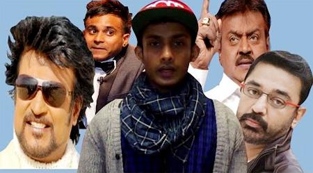 2015 Review Newyear Special By Simbu ,Kutti Harri and Indian Artists(Kamal,Super Star Rajini, ect)
