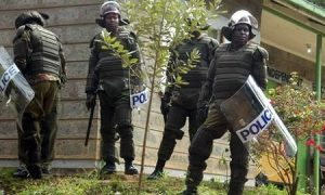 While Guarding a Church, two Policemen are shot dead