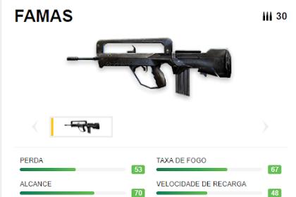 Armas Y Balas De Free Fire