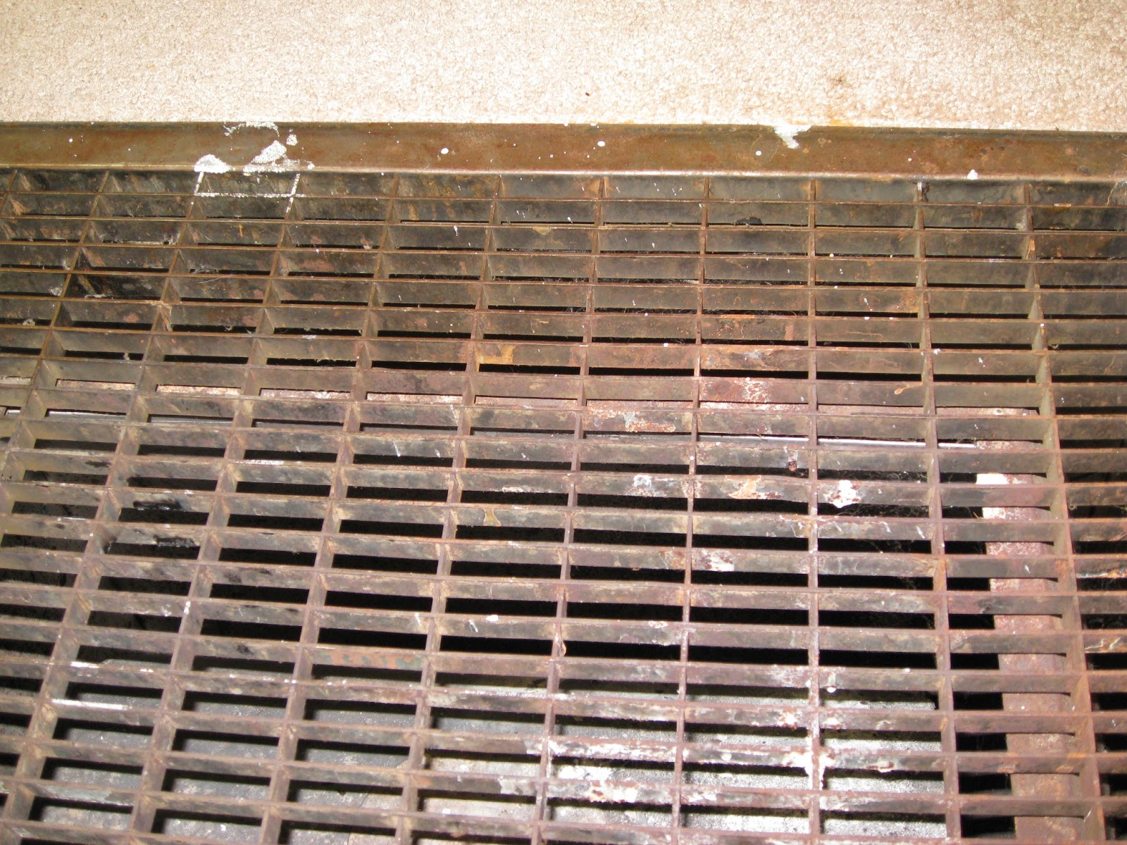 Floor Furnace Grate Safe