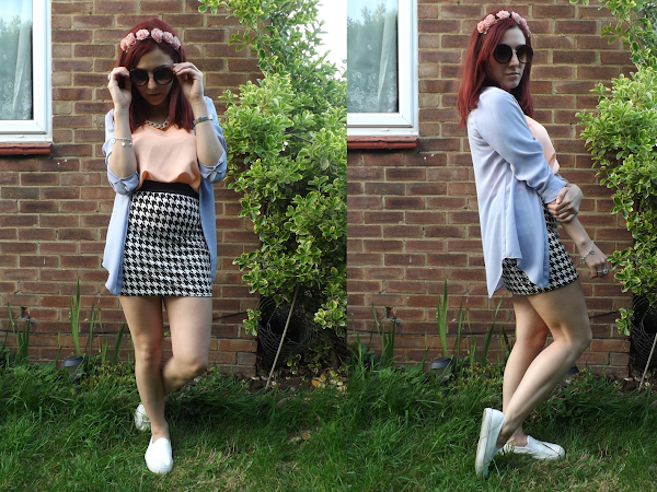 What Cat Wore: Dogtooth & Pastel