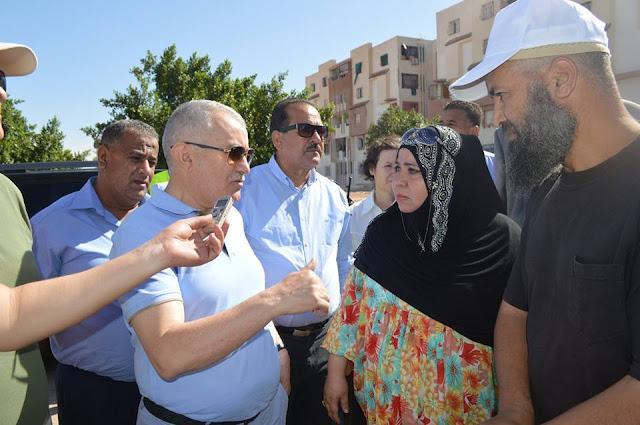 """والي الشلف : """" 9000 وحدة سكنية قيد الإنجاز ...و1500 حصة ستوزع قبل نهاية السنة """""""