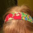 patchy summer headband