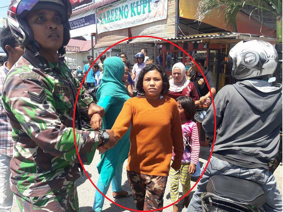 """Beredar di Media Sosial Video Pencurian Yang Dilakukan Oleh Korban Yang diteriaki """"Penculik Anak"""" di Bireuen"""