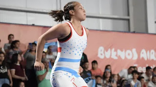 Linda Machuca secured another medal for Argentina