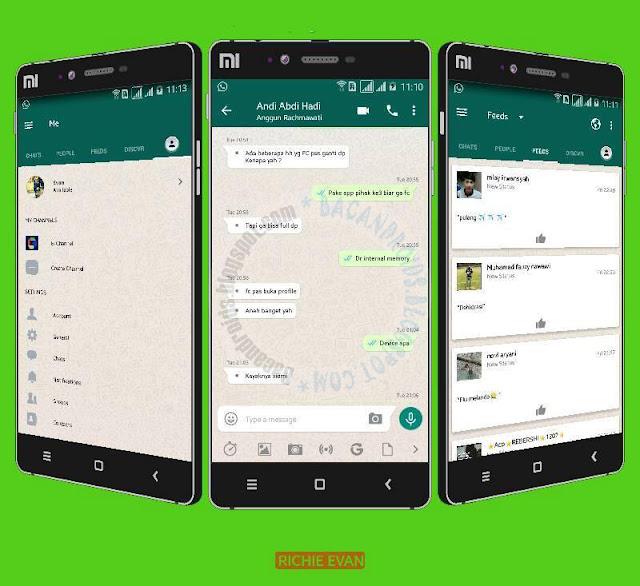 BBM Whatsapp mod Style v3.3.1.24 Apk Latest