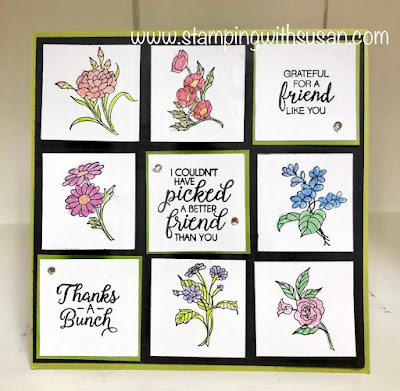 www.stampingwithsusan.com, Stampin' Up!, Sampler, In Every Season,
