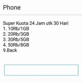 Promo Paket Internet Telkomsel Terbaru