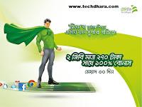 Teletalk 100% internet data bonus offer