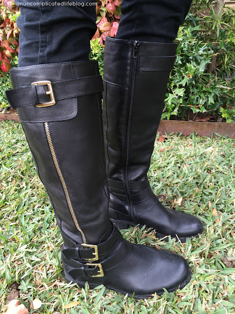High boot hyrid: motorcycle and riding boot style