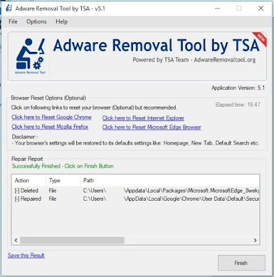 Tech Notes: Removing The ZeroSurvey com Pop Up Adware In Windows 10