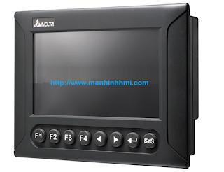 Cung cấp màn hình HMI Delta 7 inch DOP-B07S401K hỗ trợ phím chức năng nổi.