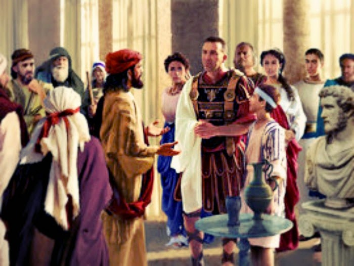 Estudio Biblia: HECHOS 10. Pedro y Cornelio