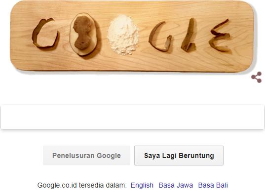 Eva Ekeblad muncul di halaman utama Google