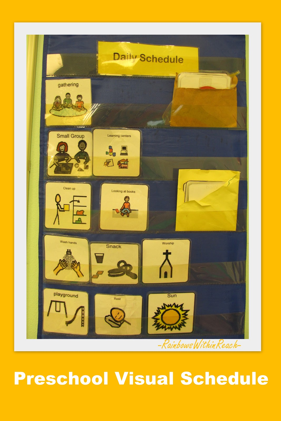 Visual Schedule For Preschool Drseussprojects