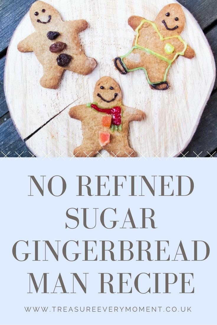 RECIPE: No Refined Sugar Gingerbread Men