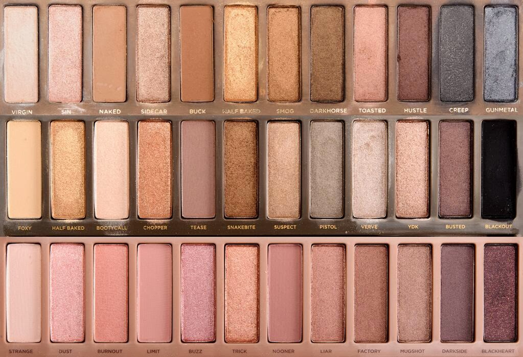 naked palette tumblr