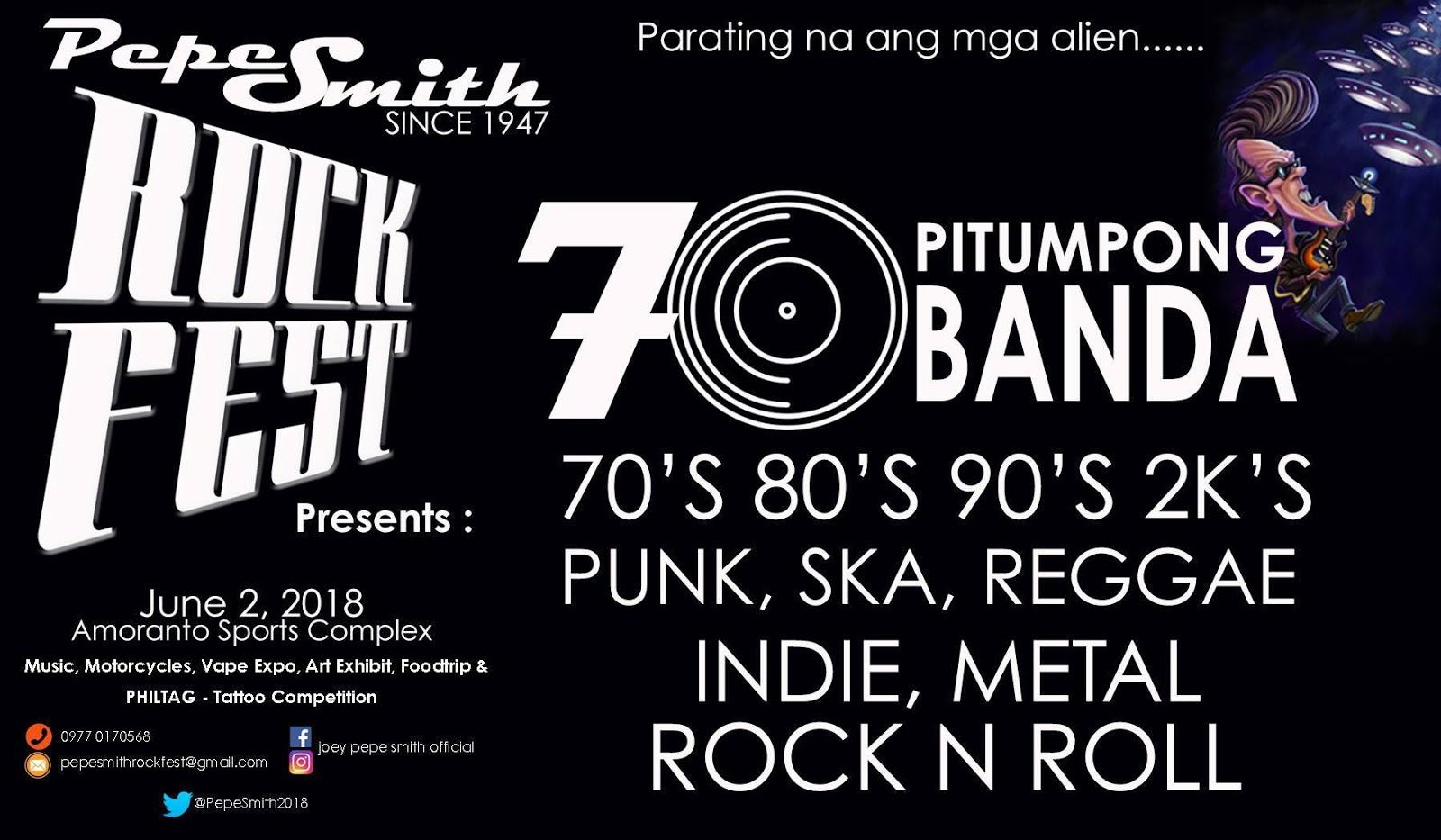 Pepe smiths road manager pire pepe smith rockfest ticket prices fandeluxe Choice Image