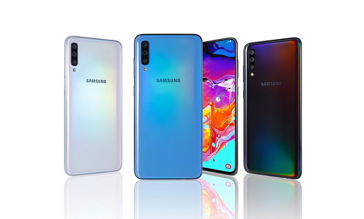 Samsung Launches Galaxy A70