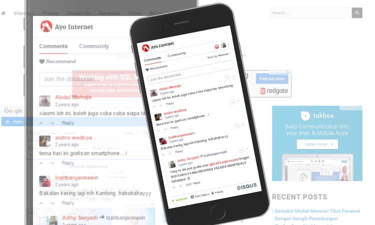 Memasang Komentar Disqus Di Wordpress AMP HTML