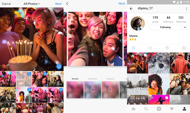Instagram now lets you share multiple photos and videos in one post