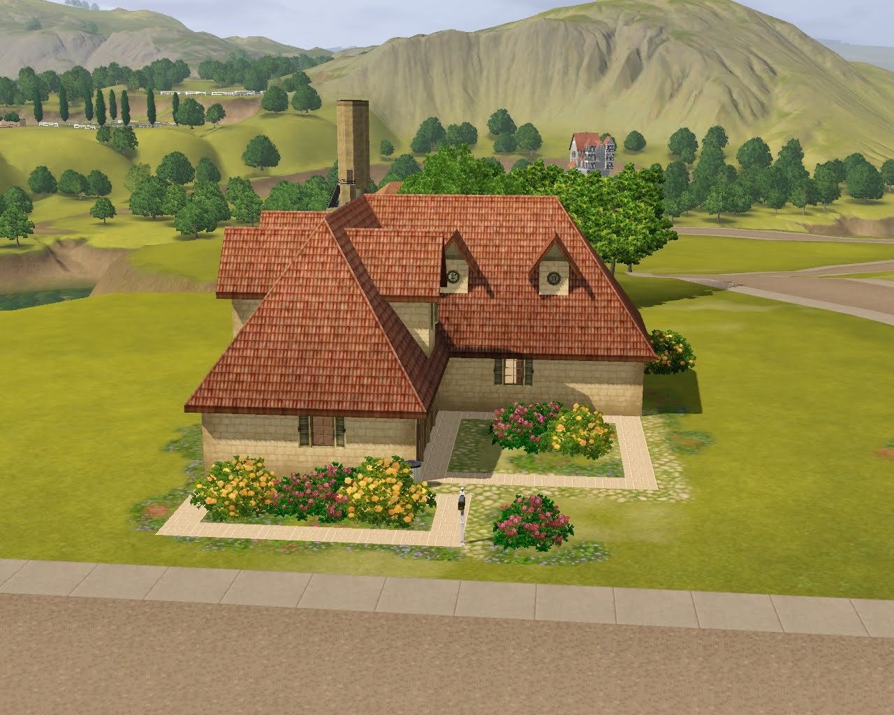 summer 39 s little sims 3 garden champs les sims the sims 3 world adventures list of empty houses