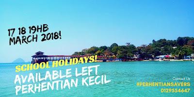 Tarikh Available Cuti Sekolah Pakej Pulau Perhentian